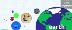 Agario cell eating game