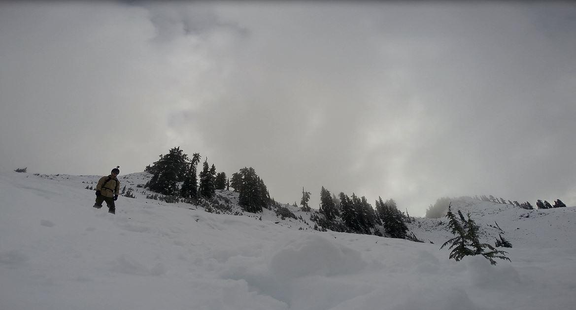 Backcountry i Squammish