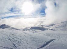 Januar på toppen af Whistler