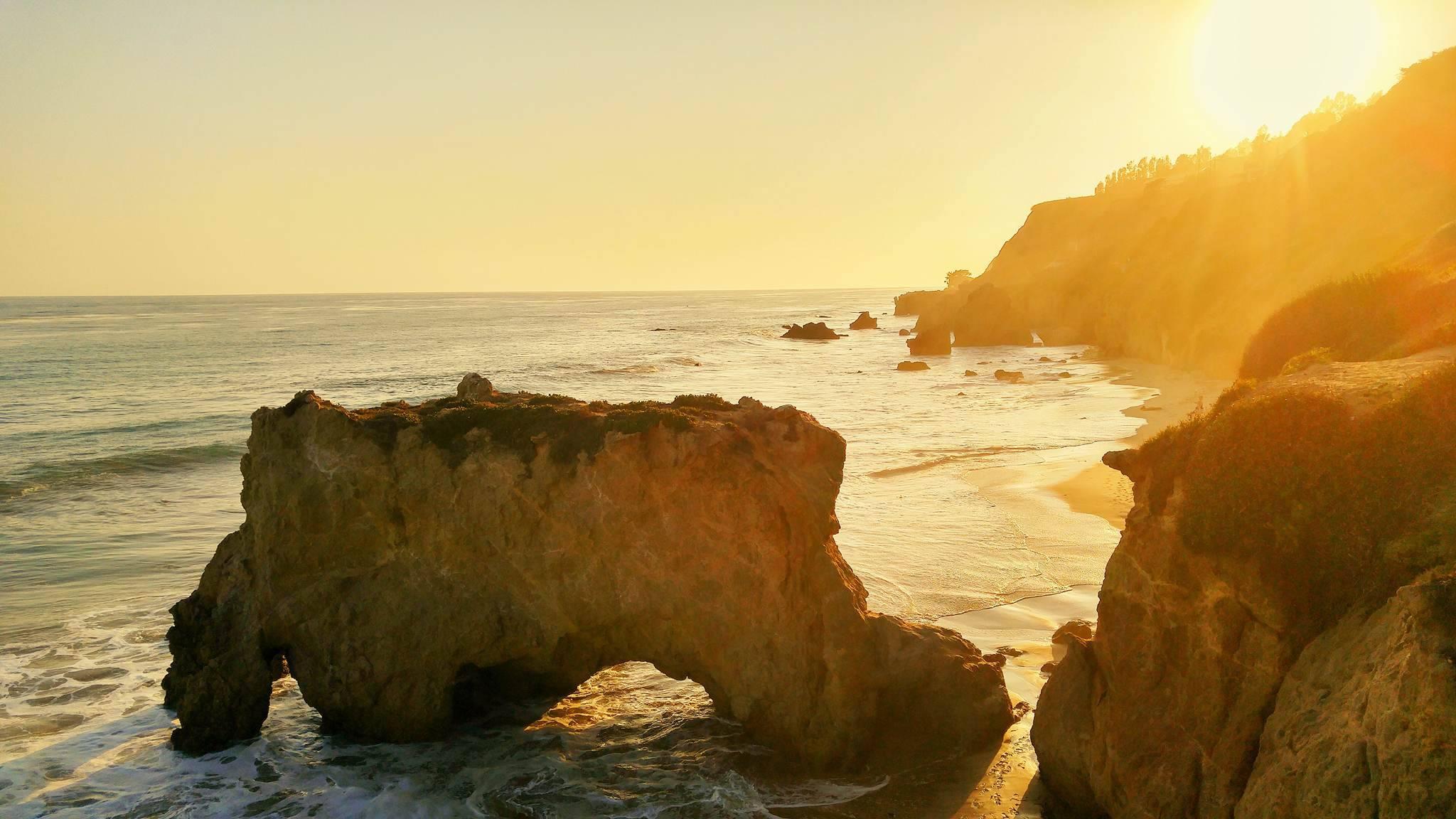 El Matador beach, Californien, Westcoast Roadtrip