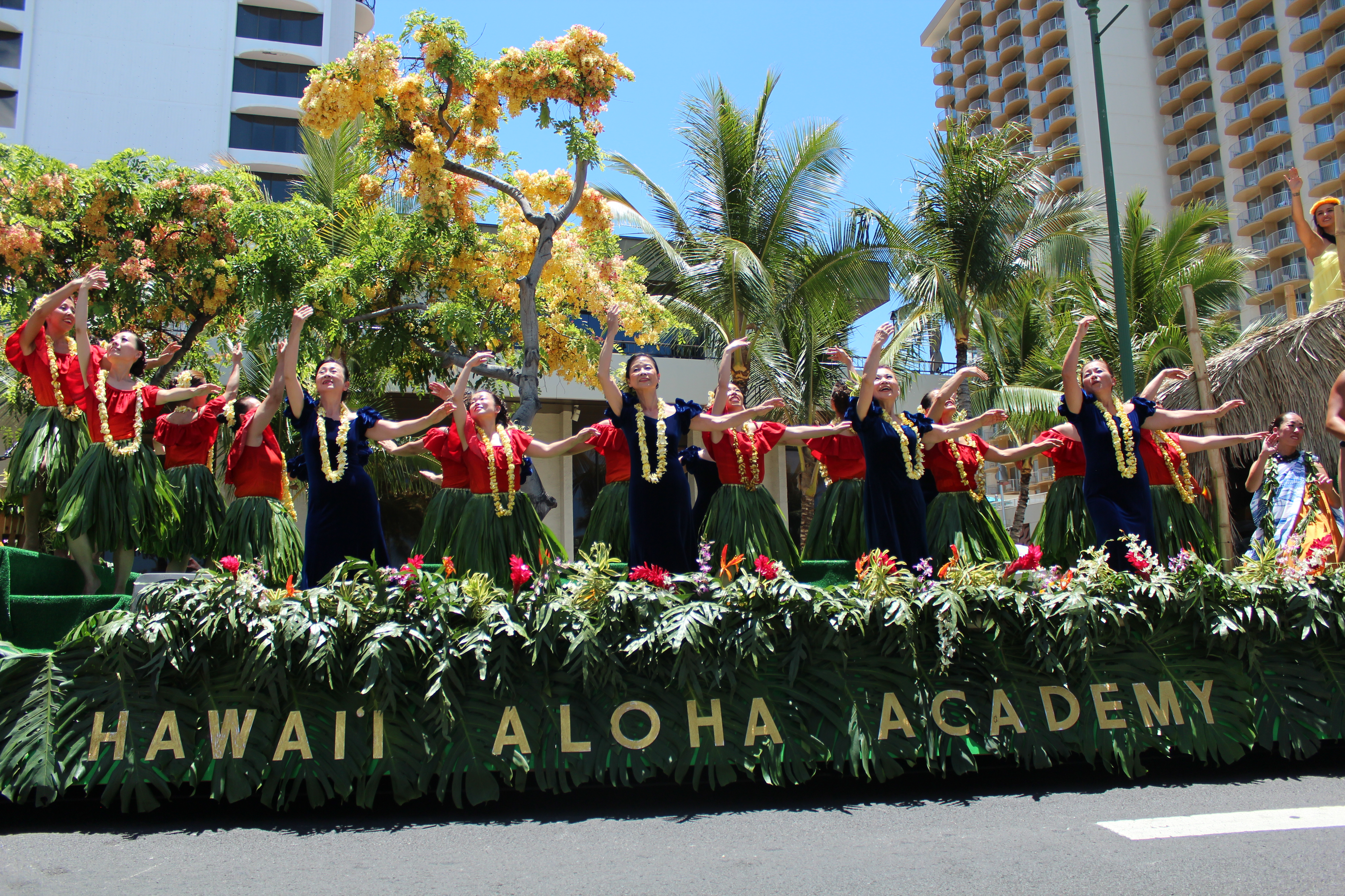 Parade i Waikiki, Hawaii