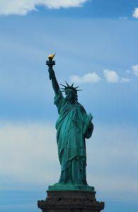 Frihedsgudinden, statue of liberty, New York