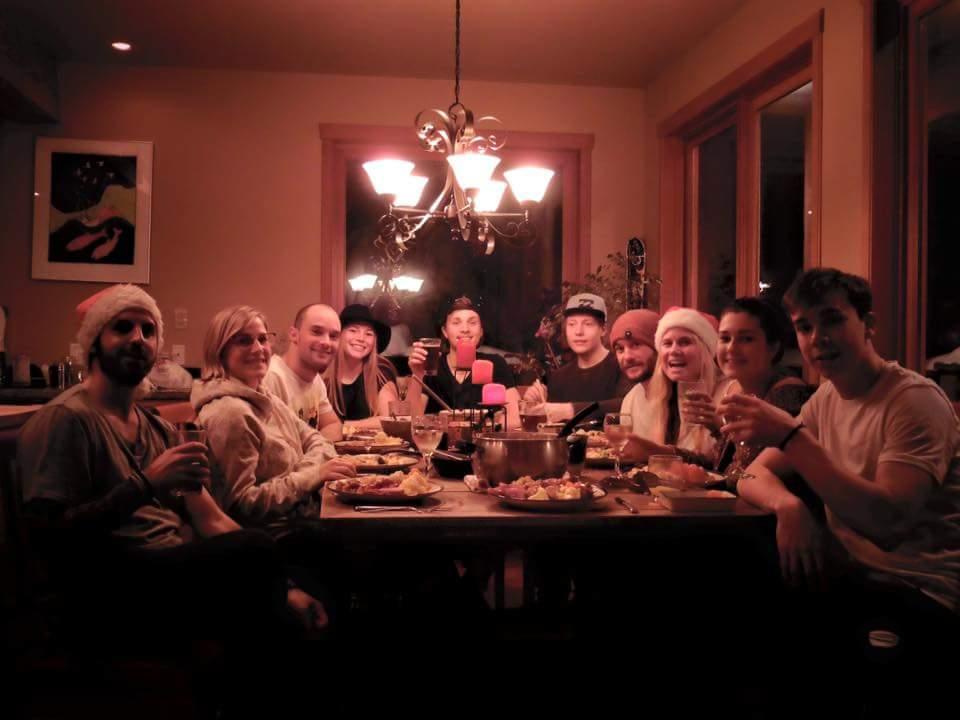 Juleaften i Whistler