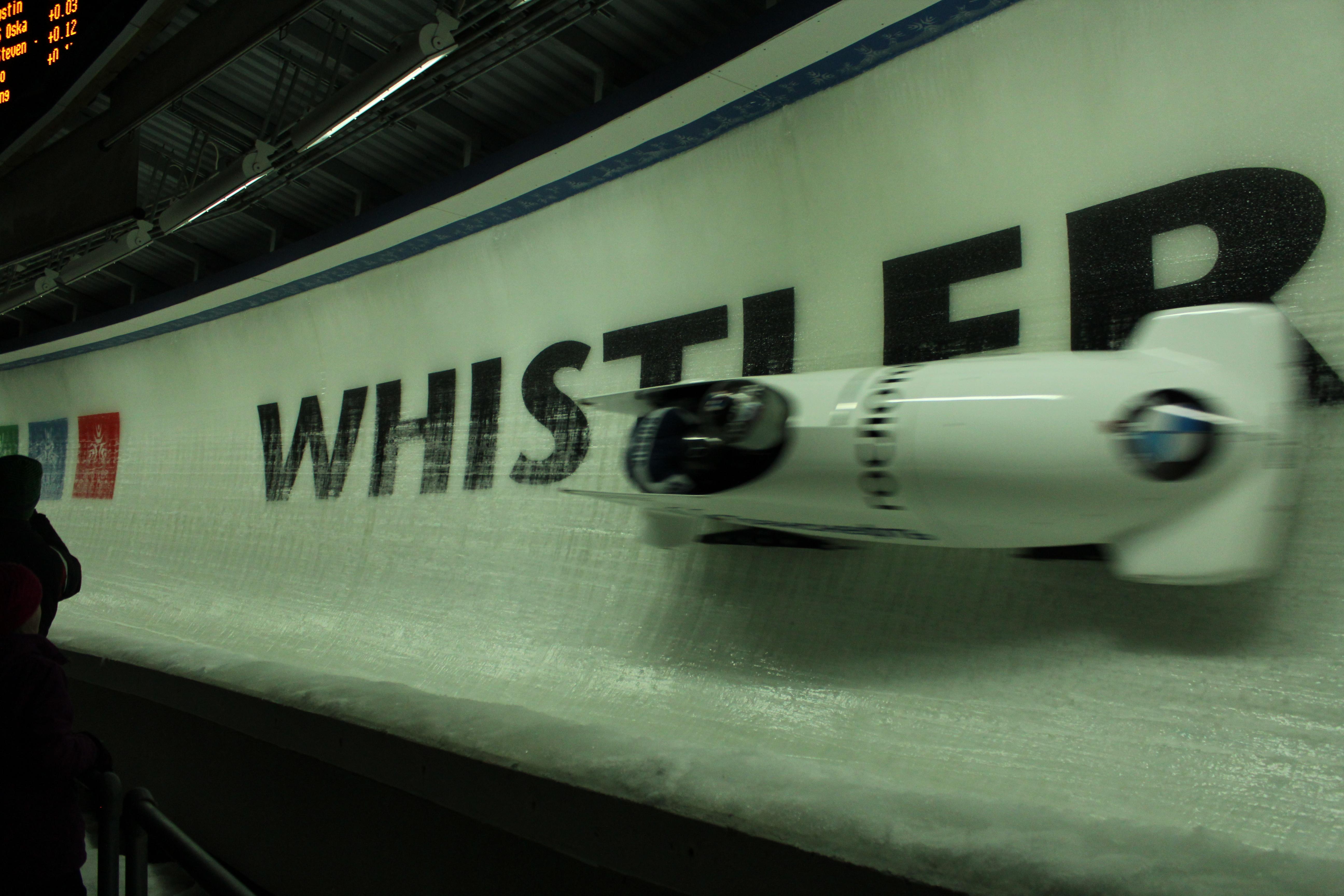 Bobslæde World Cup I Whistler