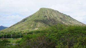 Koko head crater hiki, Hawaii