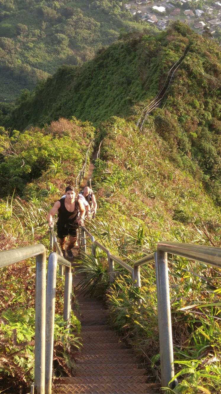 Haiku Stairs aka Stairway To Heaven, Hawaii