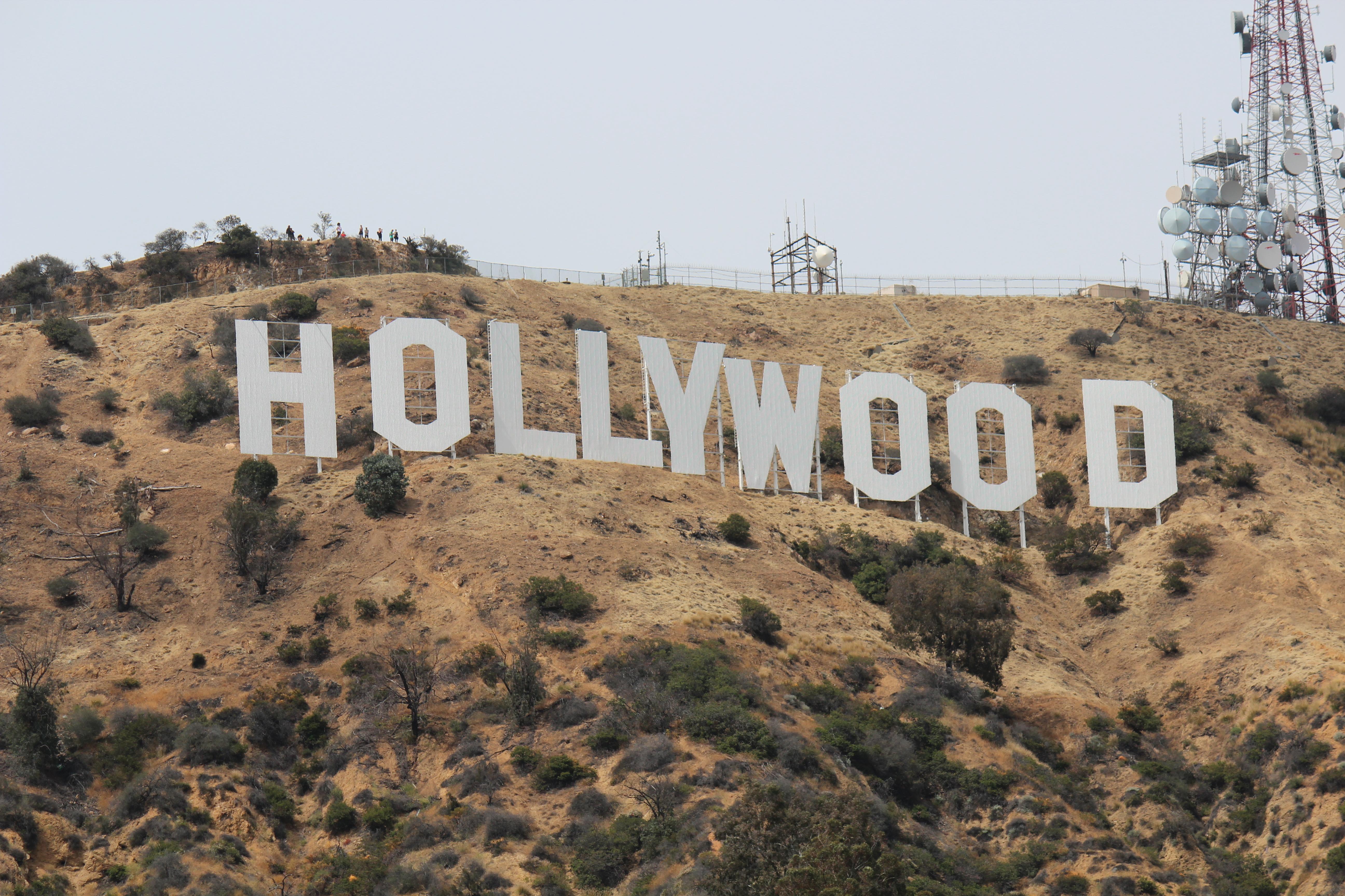 Hollywoodskiltet, Hollywood Los Angeles, Californien