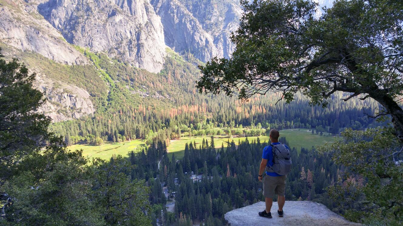 Dennis Asp i Yosemite, Californien