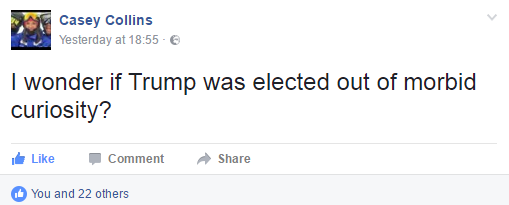 Facebook Donald Trump