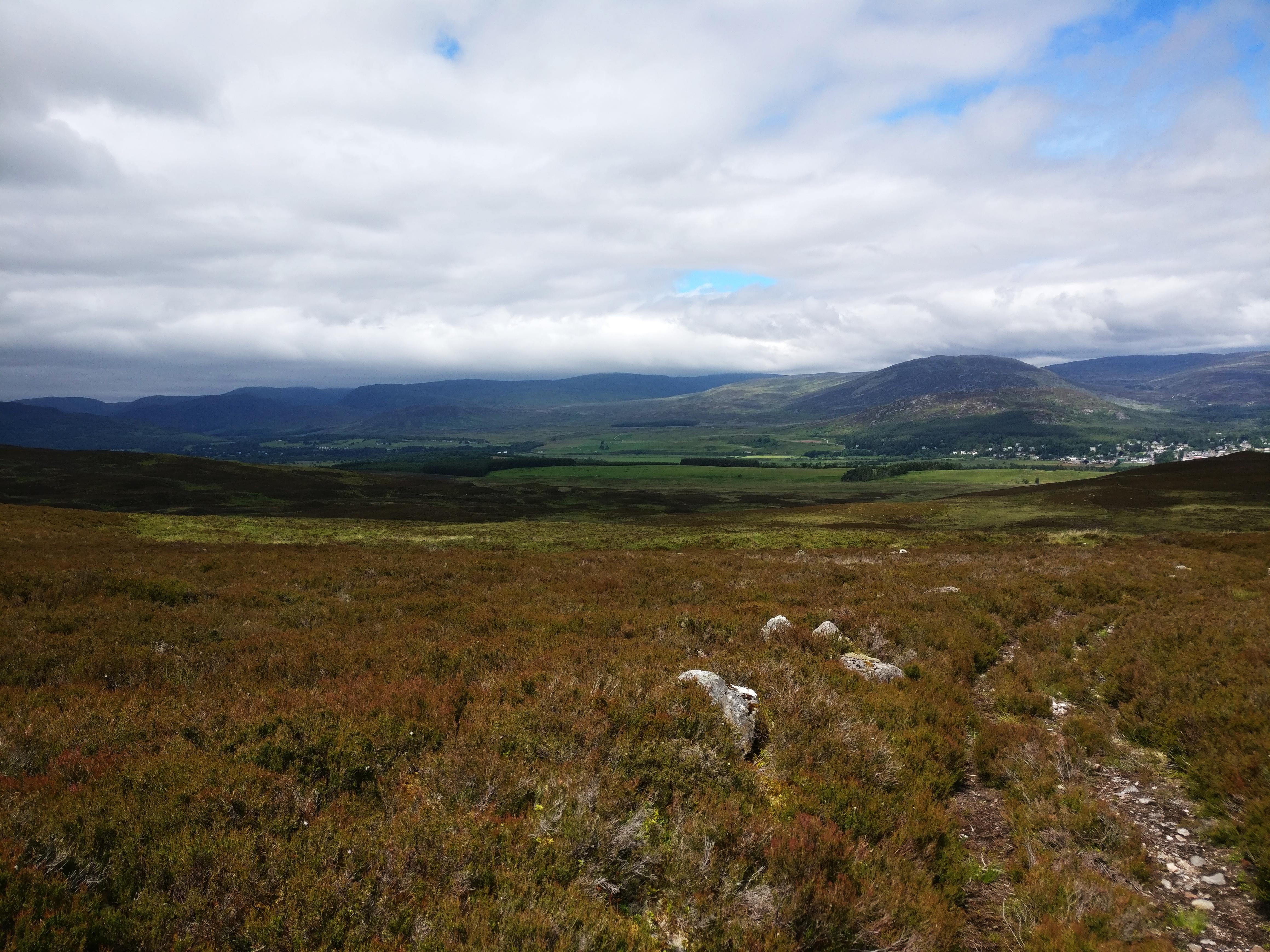 Vandretur i Kingussie, Cairngorm National Park, Skotland